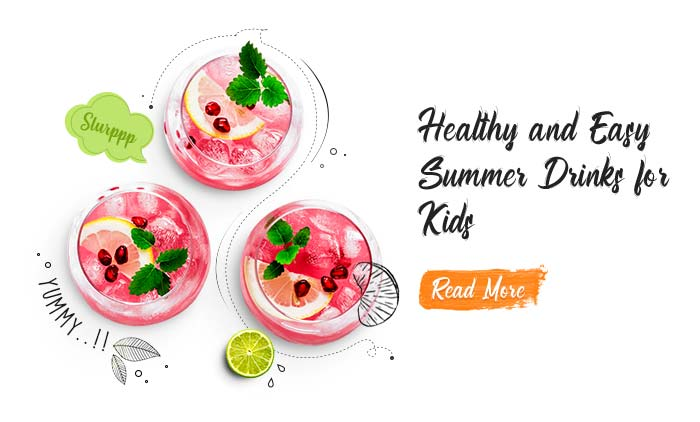 Healthy and Easy Summer Drinks for Kids