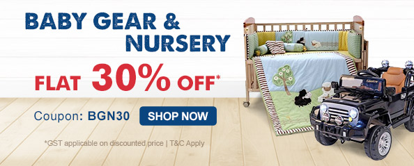 firstcry.com - Get 30% OFF on Baby Gear & Nursery Range