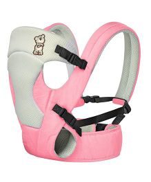 R for Rabbit New Cuddle Snuggle 3 Way Comfortable Baby Carrier - Pink & Grey
