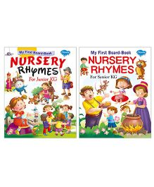 Sawan My First Board Book Nursery Rhymes Set of 2 Books - English