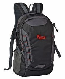 fd0d6c7881 F Gear Fortune Backpack With Laptop Storage Compartment Black Grey - 16  inches