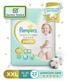 Pampers Premium Care Pant Style Diapers XX Large - 22 Pieces