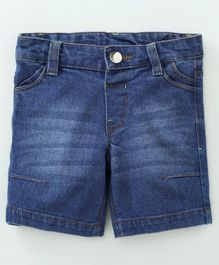 Babyoye Cotton Denim Shorts - Blue