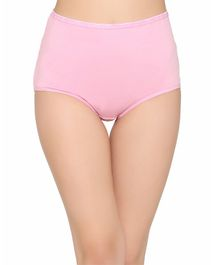 f2f342f395f Clovia Solid High Waist Maternity Hipster Panty - Pink