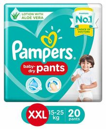 Pampers Pant Style Diapers XX Large Size - 20 Pieces