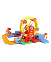 df8b18bd763 Battery Operated Toy Train Set - Multicolour