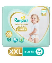 Pampers Premium Care Pant Style Diapers XX Large Size Monthly Pack - 64 Pieces