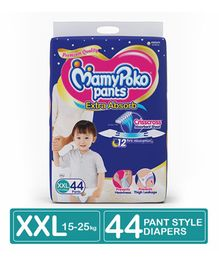 MamyPoko Extra Absorb Pant Style Diaper XX Large Size - 44 Pieces