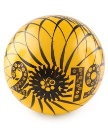 Printed PVC Kids Soft Ball - Yellow