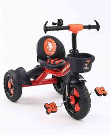 Plug & Play Tricycle With Manual Bell  - Orange