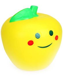 Speedage Smiley Apple Money Bank - Yellow