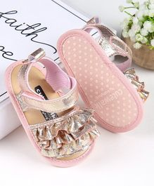 Cute Walk by Babyhug Sandal Style Booties - Pink