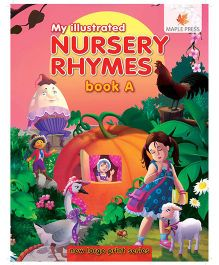 Nursery Rhymes Book A Illustrated - English
