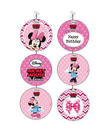Disney Minnie Mouse Danglers - Pink