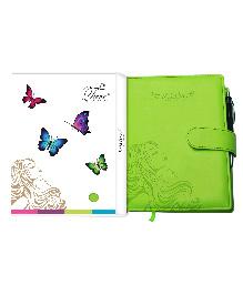 Tiara Diaries Pregnancy And Baby Journal Cum Planner - Green