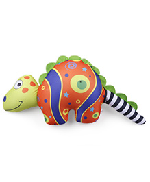 Baby Soft Dinosaur Shaped Pillow - Multicolor