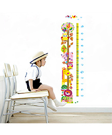 Syga Growth Chart Wall Sticker - Multicolor