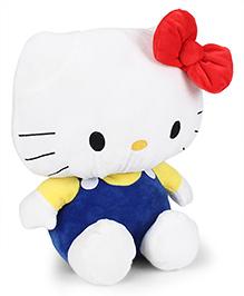 Hello Kitty Plush Soft Toy Dark Blue & White - Height 35 Cm