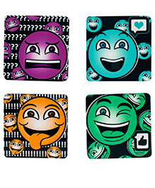 The Crazy Me For All Your Moods Coasters Set - Multicolour