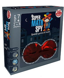 Chalk And Chuckles Super Math Spy Game - Multicolor