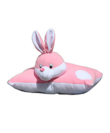 Amardeep Fun Pillow Rabbit Pink - 4 Inches