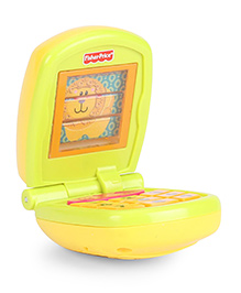 Fisher Price Musical Flip Phone - Yellow
