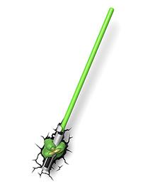 3D Light Star Wars Yoda Light Saber - Green