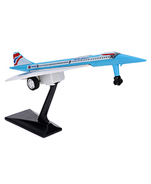Speedage Concorde British Airways Airplane With Stand (Color May Vary)