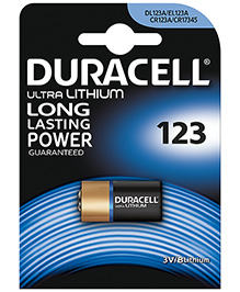Duracell Ultra Lithium Photo Batteries - Pack Of 1