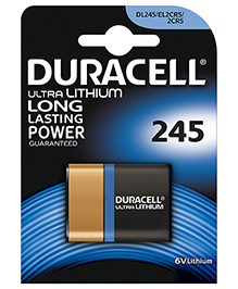 Duracell Specialty Type 245 Ultra Lithium Photo Battery - Pack Of 1