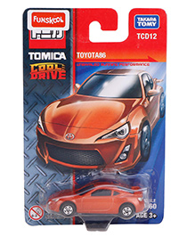 Takara Tomy Funskool Toyota A 86 Toy Car - Orange