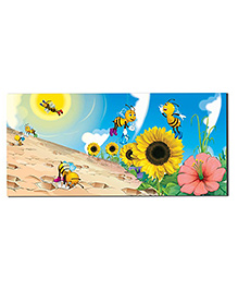 Ultra Honey Bee Design Envelopes With Special 3D Effects Pack Of 5 - Multicolor