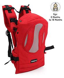 Babyhug Snuggle Me 3 Way Baby Carrier - Red