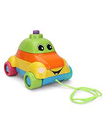 Funskool Stack A Car - Multicolor