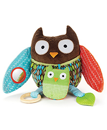 Skip Hop Treetop Friends Hug & Hide Owl Activity Toy - Multi