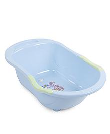 Baby Printed Bath Tub - Blue Green