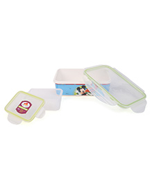 Servewell Mickey Mouse Lunch Box Set - Blue