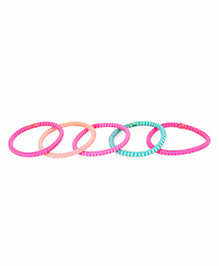 Stol'n Hair Rubber Bands Multicolor - Pack Of 5