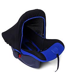 Rear Facing Car Seat Cum Carry Cot - Blue And Black