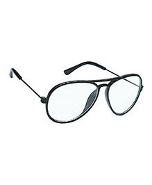 Glucksman Classic Aviator Kids Sunglasses - Black