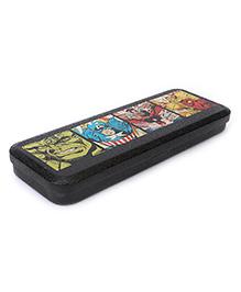 Marvel Avengers Metal Pencil Box - Black