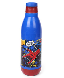 Marvel Insulated Bottle Spiderman Print Blue & Red - 500 Ml