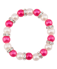 Daizy Striking Bracelet - White
