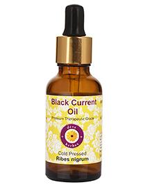 Deve Herbes Pure Black Current Cold Pressed Oil (Ribes Nigrum) Oil - 15 Ml