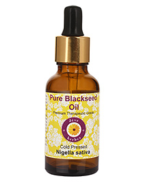Deve Herbes Pure Black Seed Oil With Dropper - 50 Ml