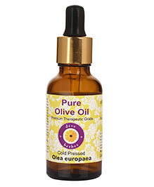 Deve Herbes 100% Pure Olive Oil With Dropper - 100 Ml