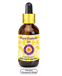 Deve Herbes Pure Baobab Oil With Glass Dropper -  100 Ml