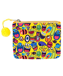 The Crazy Me Multi Utility Pouch Quirk Print - Multi Colour