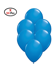 Party Propz Balloons Blue - 50 Pieces