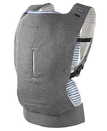 Chicco Myamaki Complete Denim Cyclamen 3 Way Baby Carrier - Grey